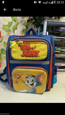 Школьный рюкзак с ортопедической спинкой. Возможен обмен