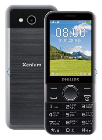 Телефон филипс Xenium Е580 кнопочный
