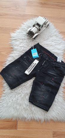 Spodenki krótkie jeans Dsquared