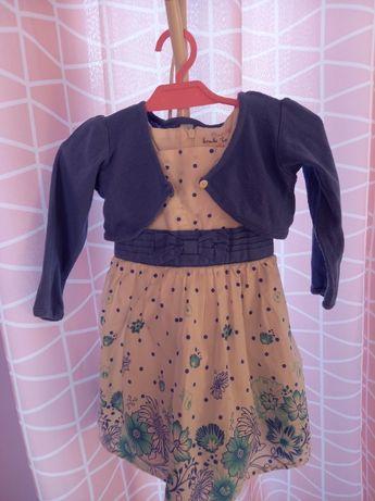 Sukienka z bolerkiem 80