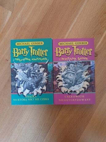 Zestaw Barry Trotter Harry Potter fantasy dla młodzieży parodia
