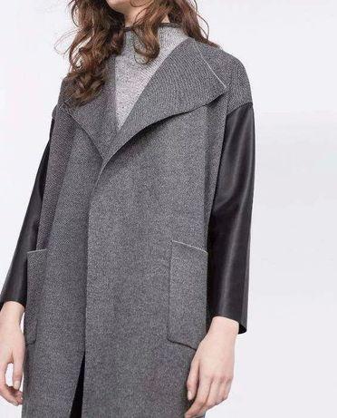 Nowy płaszcz, kardigan Zara z metkami