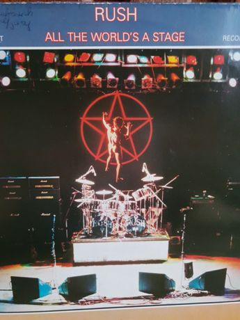 Rush- All the worlds stage 2 Lp.,