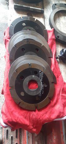 Deutz dx 7.10 dx 145 dx160 hamulce tarcze cylinderek