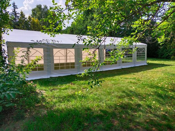Wynajem namiotów - 12x6, 8x6 - pawilon ogrodowy - kompleksowo!