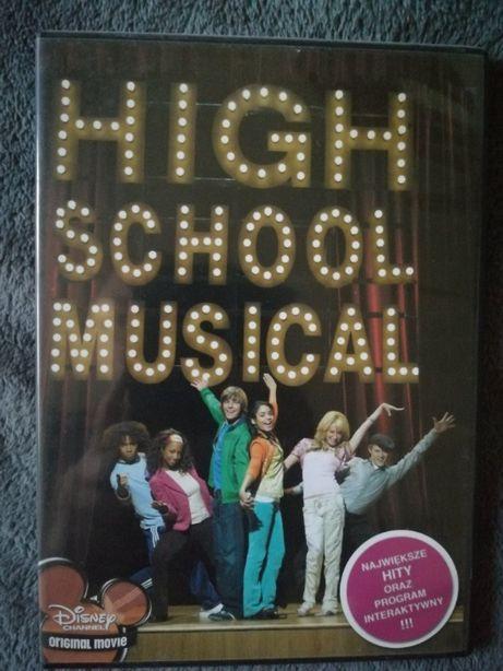 Płyta DVD z piosenkami z filmu High School Musical