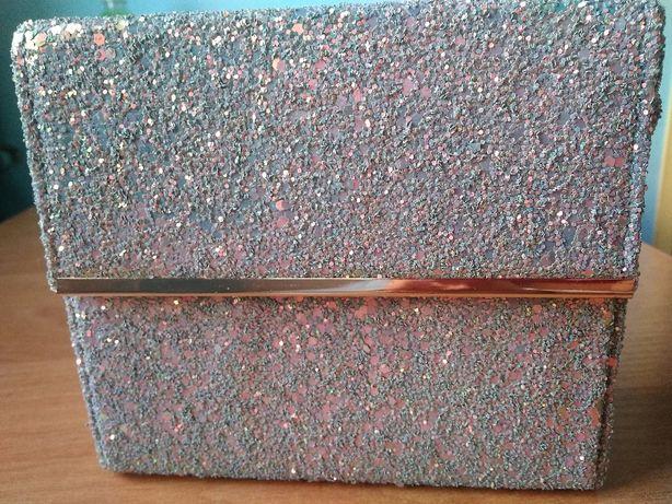 Torebka New Look Glitter Fever błyszcząca brokat wieczorowa