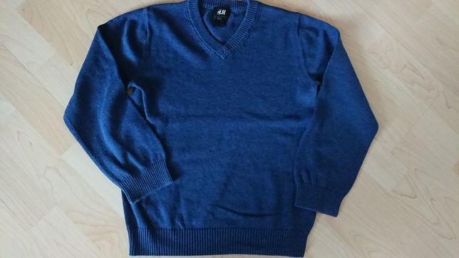 Sweterek chłopięcy rozm. 122/128, h&m