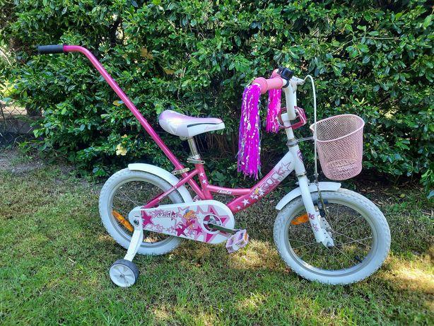 rower kola 16 rowerek dla dziewczynki kolka boczne