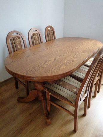 sprzedam stół i 8 krzeseł