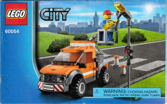 Lego CITY 60054 - Samochód naprawczy