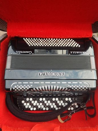 Akordeon guzikowy Sonola Mercury Convertor 120 basów