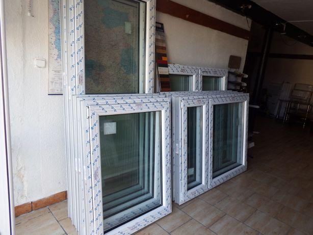 Okno PCV 6 komorowe , rozmiar 116,5 x 113,5 ru