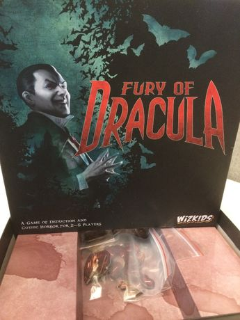 Fury of Dracula, 4 edycja, wersja angielska, gra planszowa, bdb stan