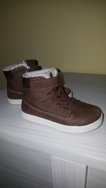 Zimowe buciki h&m