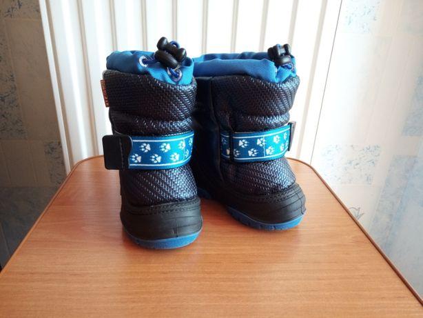 Сапоги Alisa Line Sparkli р.21 темно-синие. В отличном состоянии.