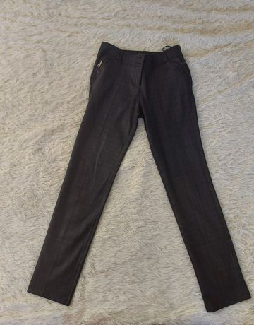 Женские брюки темно серые