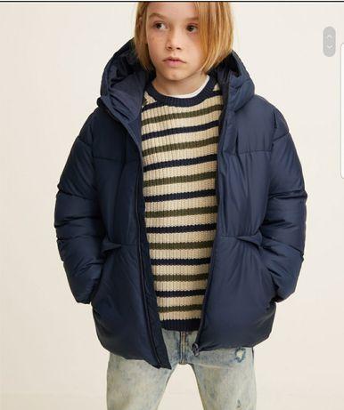 Зимняя куртка Mango на мальчика на рост 110 и 116 см