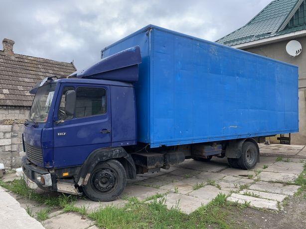 Mercedes benz 1117 Мерседес грузовой фургон 11-17