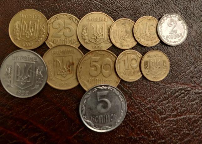 Монети ,хорошое состояние