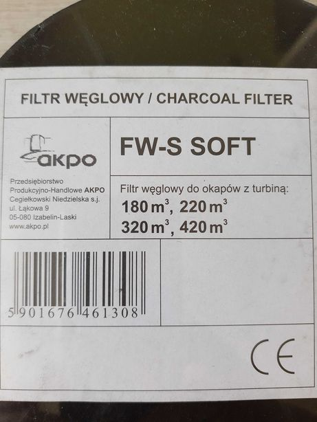 Filtry węglowe do okapu, filtr do okapu kuchennego