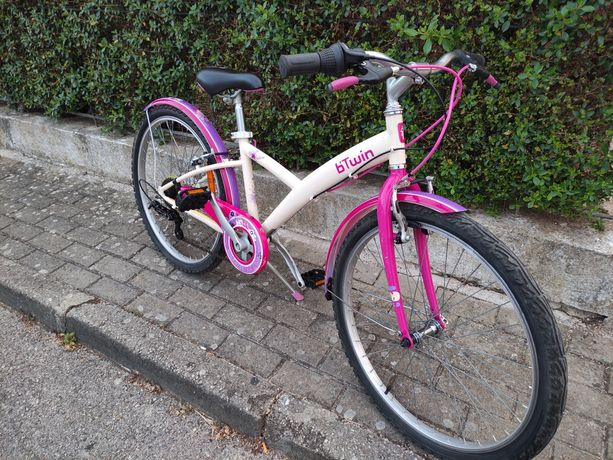 Bicicleta Btwin (Nature) roda 24