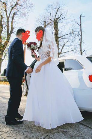 Suknia ślubna, okazja!