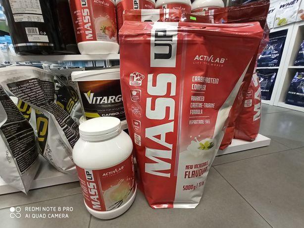 Activlab Mass Up 7kg Gainer Odżywka na mase, Węglowodany, Odżywki