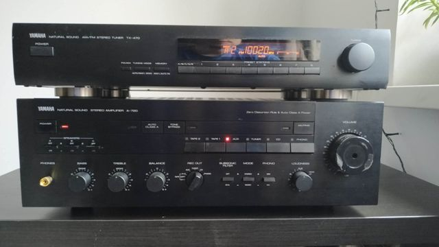 Wzmacniacz Yamaha A-720 super dźwięk!