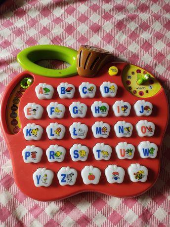 Interaktywna edukacyjna zabawka od 2 -5 lat, jabłuszko VTech