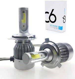 Комплект LED ламп C6 H4, Світлодіодні лампи головного світла, Автомобі