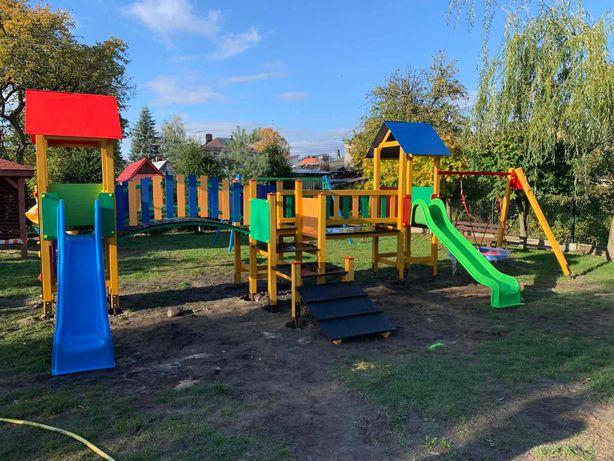 Plac zabaw Tęczowy na publiczny i prywatny plac zabaw