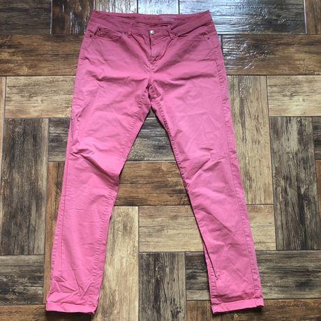 Джинсы тонкие летние розовые малиновые Esprit М-Л 32
