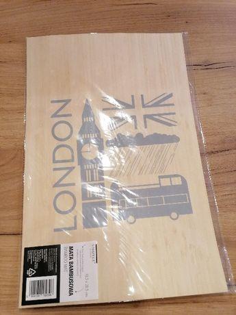 Mata na stół Bambusowa Londyn Nowa