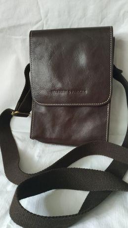 Чоловіча шкіряна сумочка