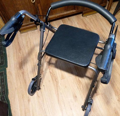 Balkonik chodzik rehabilitacyjny czterokołowy