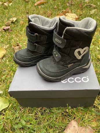 Зимние ботинки Ecco 22 размер
