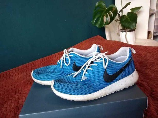 Nike niebieskie Roshe Run