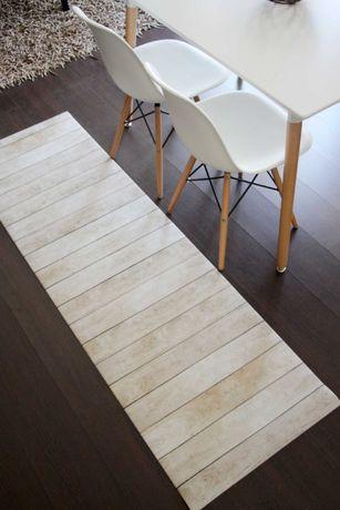 Passadeira de Cozinha Wood - AntiStress / Anti Derrapante - 55x190cm