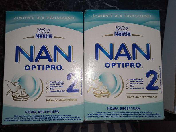 Mleko NAN 2 op 800g