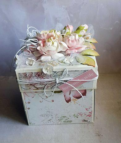 Kartka na ślub-exploding box