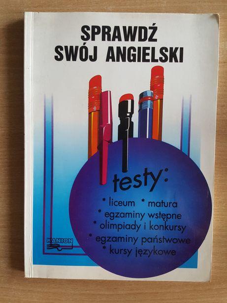 Sprawdź swój angielski TESTY Piotr Ratajczak, książka KANION
