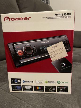 Rádio PIONEER MVH-S520BT com Garantia