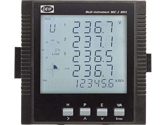 DEIF mic-2 miernik tablicowy