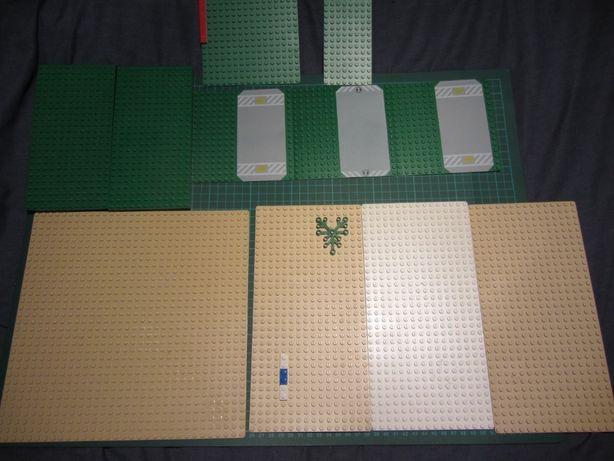 Lego płyty konstrukcyjne