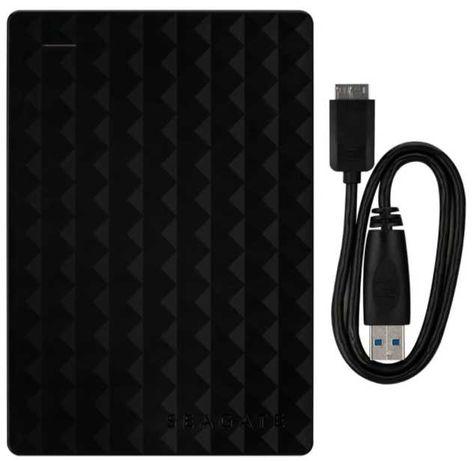 Disco portátil Seagate 2TB USB 3.0 + bolsa protectora Hama