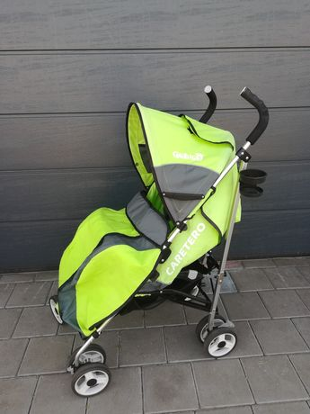 wózek spacerowy parasolka caretero gringo zielony