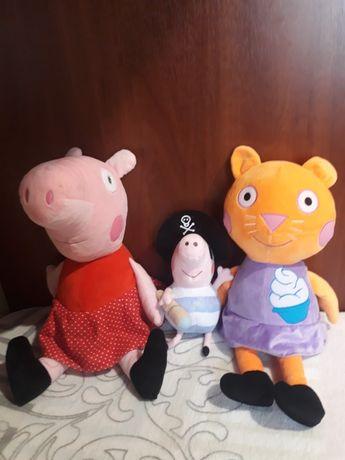 Мягкие игрушки:Пепа,Кенди,Мила,баранчик Шон,Пинки Пай,Щенячий патруль.