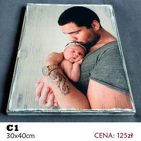Twoje zdjęcie na drewnie Format C