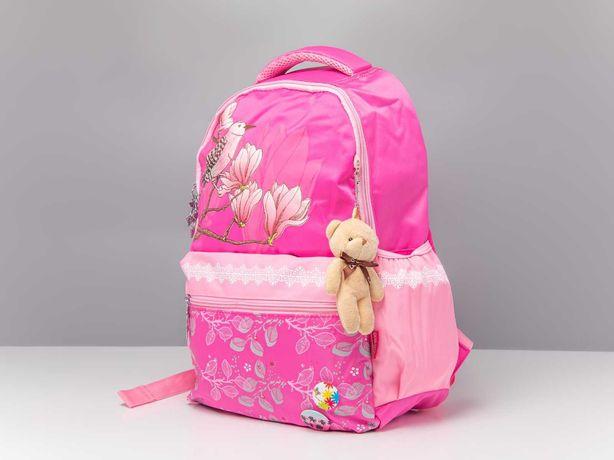 Школьный яркий рюкзак для Девочки +Брелок симпл димпл в ПОДАРОК
